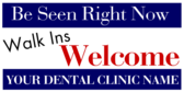Dental Walk Ins