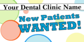 New Dental Patients Wanted