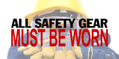 Pictorial Safety Gear Requirements Notice