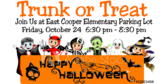 Trunk or Treat School Festival Sign
