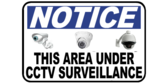 Area Under CCTV Surveillance Notice