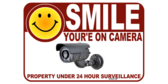Smile Your On Camera Video Sign