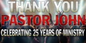 Personalized Pastor Thank You