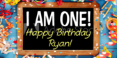 I Am One Birthday