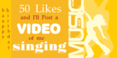 50 Likes Video Posting Birthday