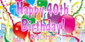 Fortieth Birthday