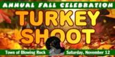 Turkey Shoot Annual Fall Celebration Banner