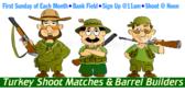 Turkey Shoot Barrel Banner