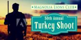 Turkey Shoot Lions Club Banner