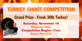 Turkey Shoot Competition Banner