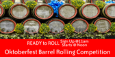 Oktoberfest Barrel Rolling Competition