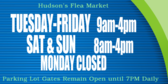 Flea Market Hours of Operation