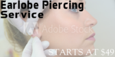 Tattoo Earlobe Piercing