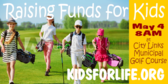Golf Tee Kids Tournament Sponsorship Sign