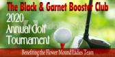 Golf Tee Annual Golf Tournament Sign