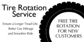 Oil Change Tire Rotation Service