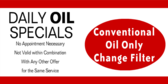Daily Oil Special Deals