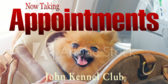 Kennel Taking Appointments