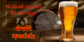 Draft Beer Specials