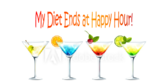 My Diet Ends Happy Hour