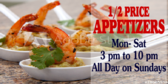 Happy Hour Food Specials