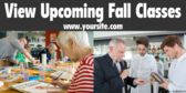 Upcoming Fall Classes