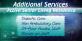 Active Senior Living Services Offered