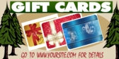 Feed Store Gift Cards Available