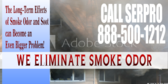 Fire Damage Smoke Odor Removal