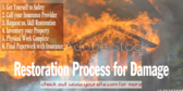 Fire Damage Restoration Steps