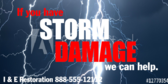Do You Have Storm Damage