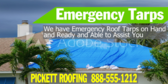 Hurricane Damage Emergency Tarps