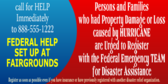 Register for Federal Disaster Assistance