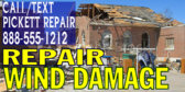 Hurricane Wind Damage Repair