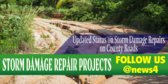 Storm Damage Repair Projects