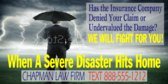 Lawyer for Disaster Storm Damage