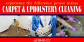 Storm Damage Carpet and Upholstery Cleaning