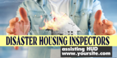 Disaster Housing Inspectors