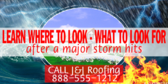 How to Check Storm Damage