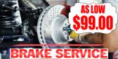 Brake Service Cost