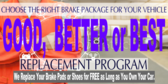 Brake Service Package