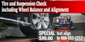 Special Wheel Alignment