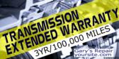Extended Warranty Transmission