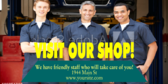 Visit our Auto Repair Shop