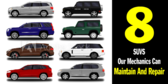 All Makes and Models of Suvs Repair