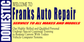 Domestic Auto Repair
