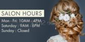 Bridal Shop Closing Hours