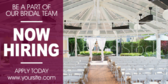 Hiring Bridal Consultants