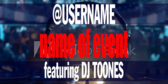 Name of Event