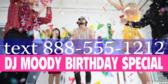 DJ Advertising Birthday Event